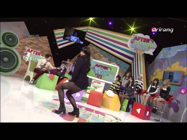 AOA Chanmi and Hyejeong Sexy Dance On After School Club Ep39