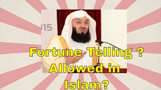 Islamic Ruling On Fortune Telling - Mufti Menk English Subtitles