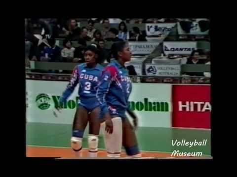 【Women Volleyball】【1994 World Grand Prix】【China vs Cuba】【Sydney Pool】