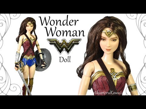 How to: Wonder Woman inspired Doll / Barbie Repaint - Tutorial