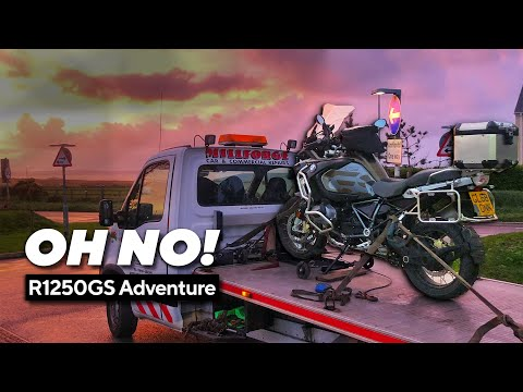 BMW R1250GSA Review - UK In 48hrs Part 1