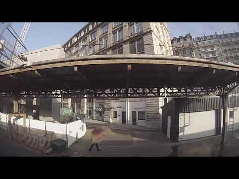 Paris, France to Luxembourg City, Luxembourg - SCNF TVG High Speed Train (2018)