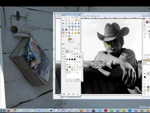 Gimp How To Colorize Black And White Image