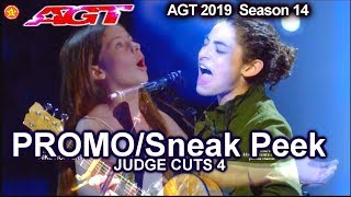 America's Got Talent 2019 PROMO Judge Cuts Week 4 Jay Leno as Guest Judge for Aug 6