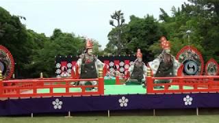 新鳥蘇、雅楽、traditional japanese music、gagaku、美し国、三重、桑名、六華苑、2018春の舞楽会、多度雅楽会演技、時間40分25秒