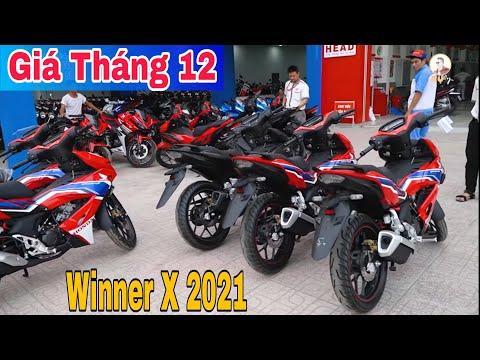 Giá xe Honda Winner X Mới Nhất Tháng 12 | Giá Winner X Chuẩn bị Tăng Mạnh | Sáu Vlogs