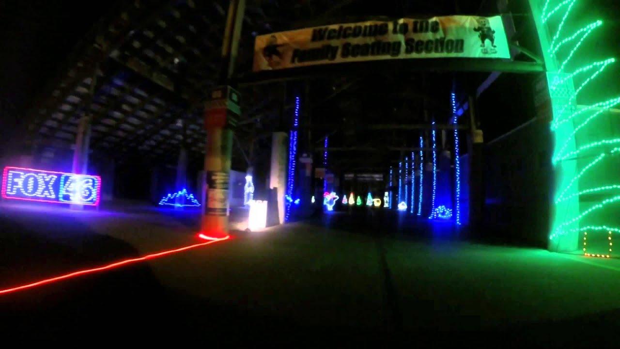 charlotte motor speedway christmas 2014 - Charlotte Motor Speedway Christmas Lights 2014