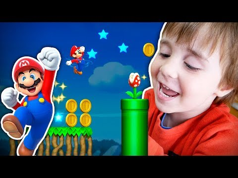 JOGOS DO TABLET DO MAIKITO!! Super Mario Run, Subway Surfers, Toca Kitchen - Jogos Android Crianças