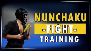 Nunchaku Fight Training - Round 1