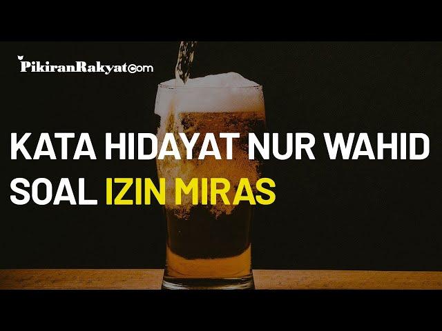 Sentil Ma'ruf Amin Soal Perizinan Investasi Miras, Hidayat Nur Wahid: Padahal Wapresnya dari MUI