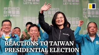 Beijing and Hong Kong protesters react to Tsai Ing-wen's win in Taiwan presidential election