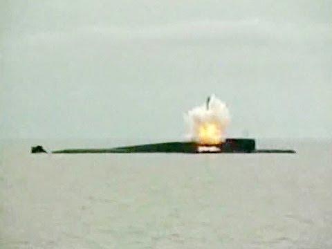 Пуск ракеты с подводной лодки