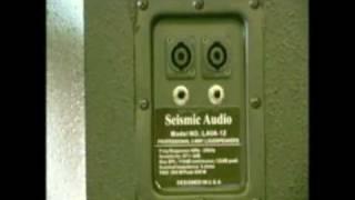 Seismic Audio Lava 12