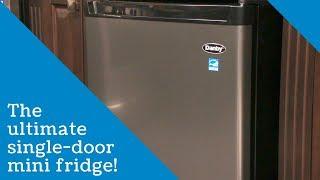 Danby 4.5 cu. ft. Single-Door Compact Refrigerator with True Freezer in Stainless Steel
