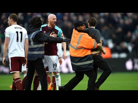 Mark Noble post match reaction interview | West Ham 0-3 Burnley | Fans invading pitch protests