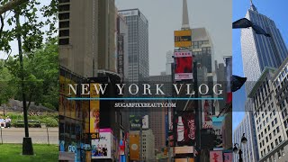 New York Vlog (new hair, 4am giggles and more!)   sugarfixxbeauty.com
