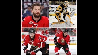 I discuss the trade rumors swirling around the Sens. Use the code '...