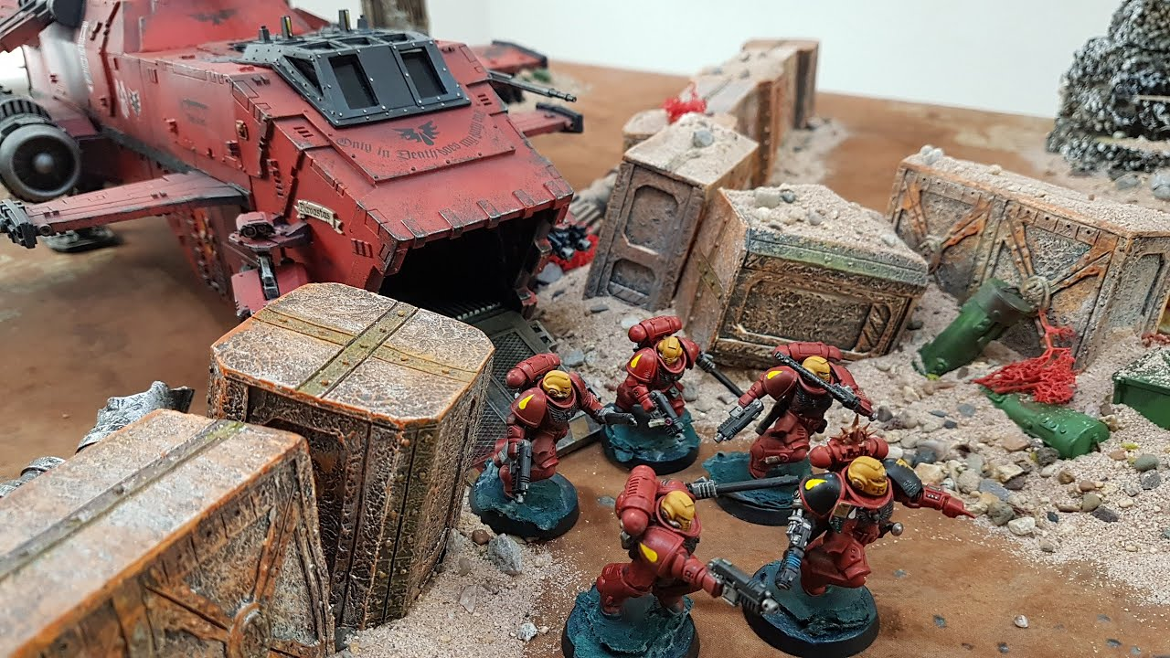 The Scouring of Baal, Warhammer 40k battle report
