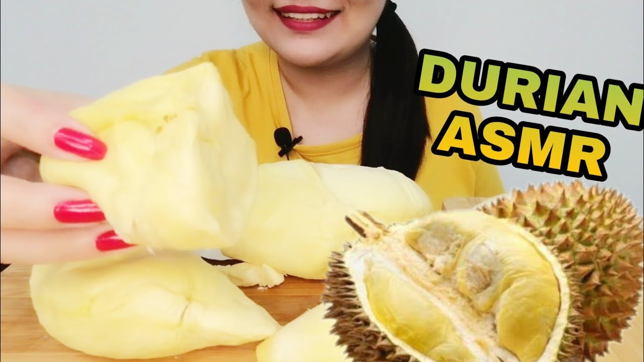 Asmr Eating Durian Mukbang Sticky Sound No Talking Snoor Asmr Youtube Come and watch what ever you love. youtube