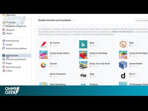 ¿Cómo eliminar el acceso (permiso) a una aplicación o juego en Facebook? - OhMyGeek!