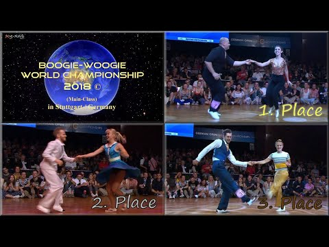 WRRC Boogie-Woogie World Championship 2018 (Place 1 - 3)