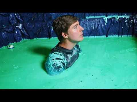 I Spent 24 Hours Straight In Slime