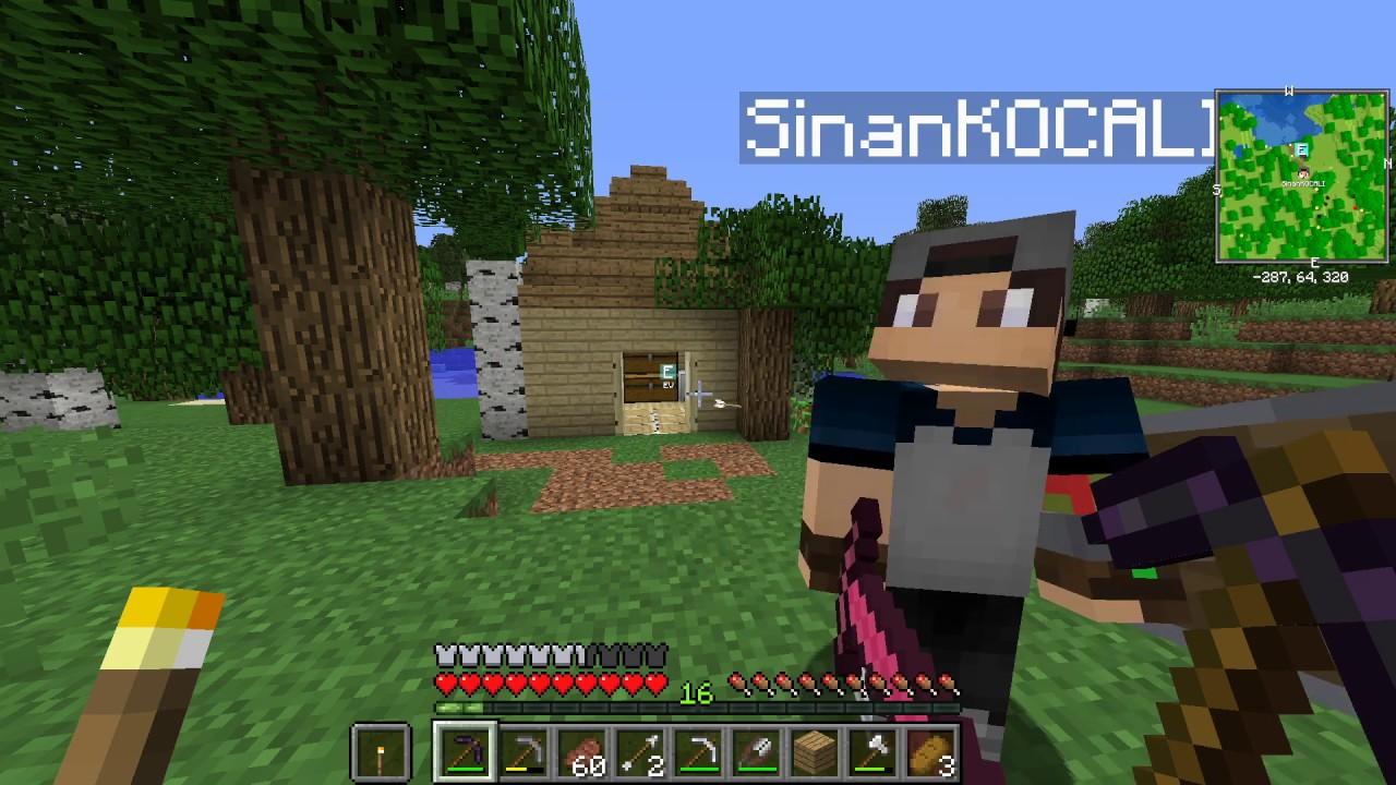 Sezon 10 Minecraft Modlu Survival Multi Bölüm 3 - Önemli Cevherler