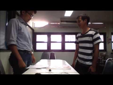 [[Group 1]] Job Interview วิดีโอตัวอย่างการสัมภาษณ์งาน ภาษาอังกฤษ