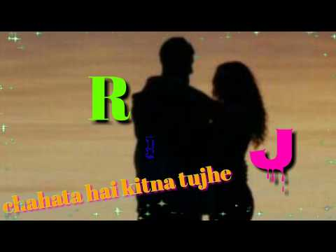 New r j letter whatsapp status(simran creation)