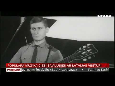 Populārā mūzika  cieši savijusies ar Latvijas vēsturi