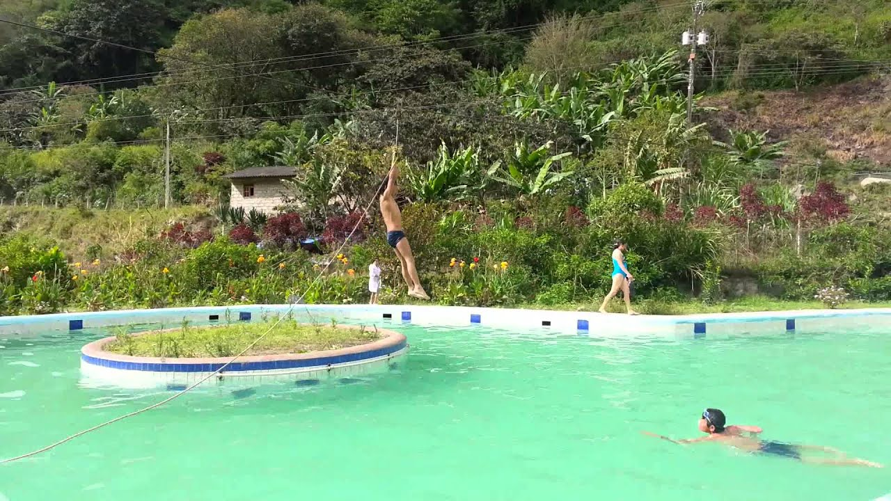 Selva alegre piscinas termales youtube for Piscinas termales
