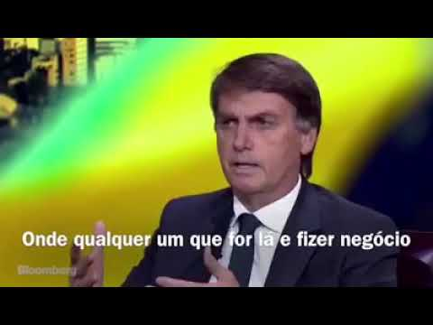 BOLSONARO: BLOOMBERG INTERVIEW.