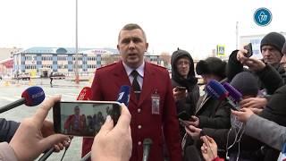 Эвакуированные из Китая россияне прошли медицинский осмотр в тюменском аэропорту
