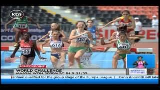 Kenya's Magdalene Maasai is gearing up for Beijing Athletics Championships