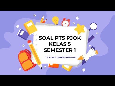 PTS PJOK KELAS 5 SEMESTER 1 TAHUN AJARAN 2021-2022
