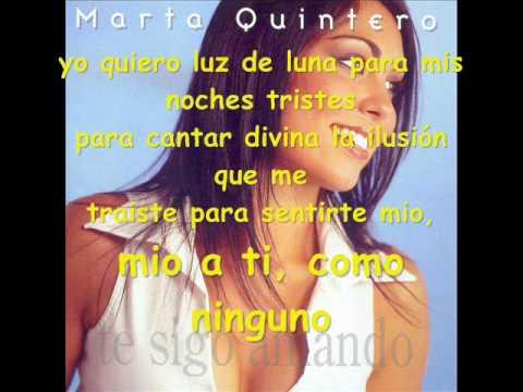 luz de luna- Marta Quintero