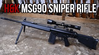 H&K MSG90 Sniper Rifle Overview