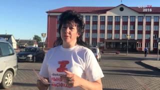 Ирина Давидович делает предложение кандидату от власти