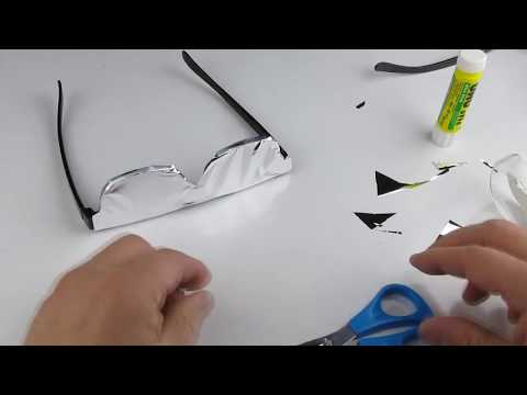 DIY - Solar Eclipse Viewing Glasses