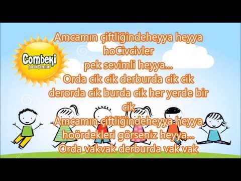 Amcamın Çiftliği - Çocuk Şarkısı - Dinle + Şarkı Sözü +  İndir