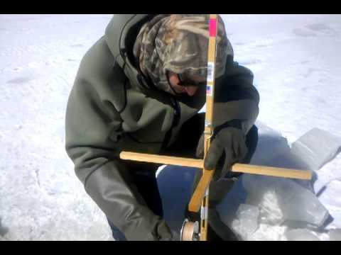1st time ice fishing highland lake nh youtube for Ice fishing nh