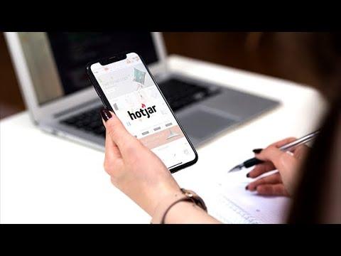 Kasutaja visuaalse käitumise mõõtmine Hotjar'iga