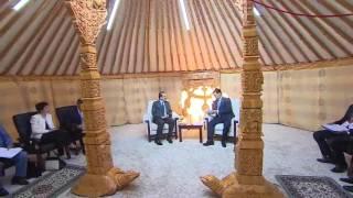 11-й саммит АСЕМ. Встречи. Улан-Батор, 15.07.2016г.
