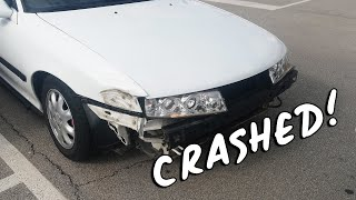 CALIBRA IS BACK... GETS TOTALED!!!