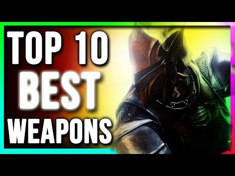 Skyrim Top 10 BEST Weapons Locations (Swords Bows Daggers Two Handed One Handed) Special Edition DLC