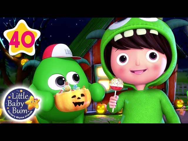 Monster Dance Halloween Special | Baby Shark Dance + More Nursery Rhymes | Little Baby Bum