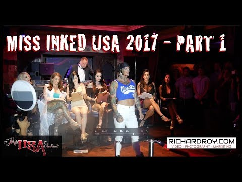 Miss Inked USA 2017 | House of Blues Dallas - Part 1