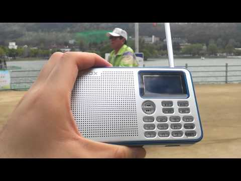 Shortwave radio reception at Suseong lake, Daegu, Korea - Radio Nikkei 1, 9595khz (23rd April 2015)
