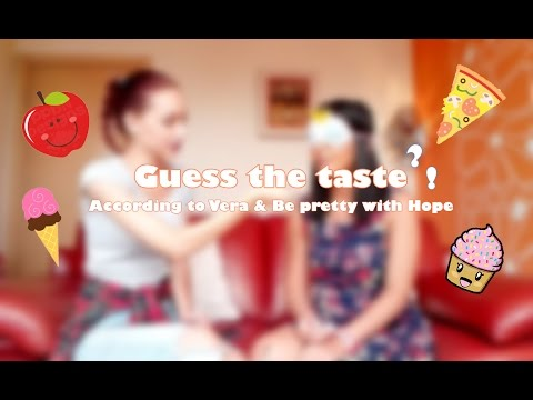 GUESS THE TASTE CHALLENGE| According to Vera blog