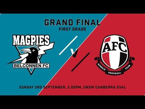 2017 AFL CANBERRA 1ST GRADE MENS GRAND FINAL
